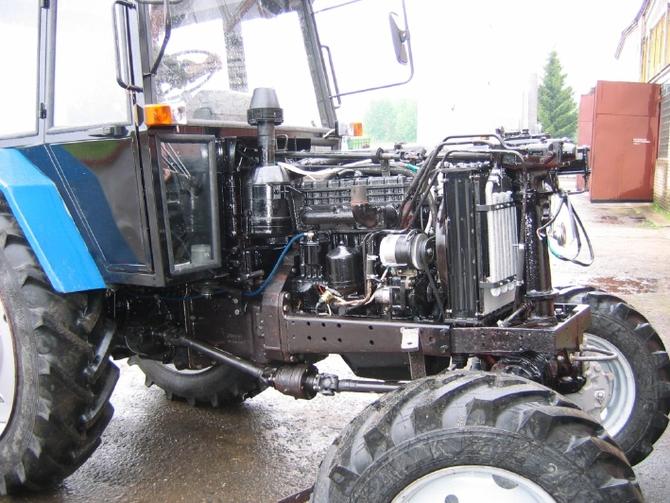 Трактор МТЗ-80.1/82.1 двигатель