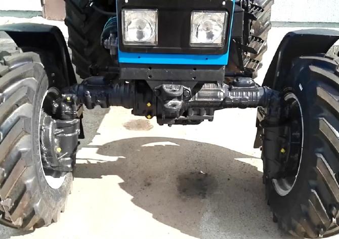 Трактор МТЗ-82.1 передний мост